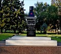 Image for Reinstallation of Immortal Flame monument in Lethbridge a family affair
