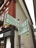 Image for Arrows at großer Markt - Montabaur - Rheinland-Pfalz / Germany