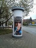 Image for Advertising Column 'Fürstengraben' - Jena/Thuringia/Germany