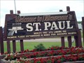 Image for St. Paul: World's First U.F.O. Landing Pad – St. Paul, Alberta