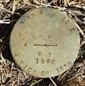 Image for T15S R10E S6 7 1/4 COR - Deschutes County, OR