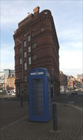 Image for A Blue Painted red Telephone Box - Leeds, UK