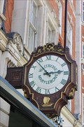 Image for Waitrose Clock -- 98 Marylebone High Street, Westminster, London, UK