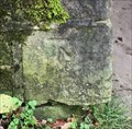 Image for Cut Mark On Side of Bridge 39 Over Rochdale Canal, UK