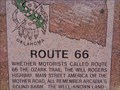 Image for Route 66 Historic Marker - Arcadia, Oklahoma, USA.
