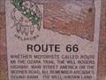 Image for Route 66 Historic Marker - Arcadia, Oklahoma, USA.