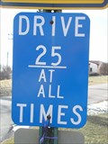 Image for DRIVE 25 AT ALL TIMES - Fraser, MI.