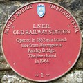 Image for Railway Station, Nidd Walk, Pateley Bridge, N Yorks, UK