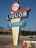 Image for Googie Sign - Marie's Drive-In Liquor Store - Paragould, AR