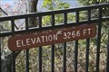 Image for Caesars Head Elevation Sign - Cleveland, SC