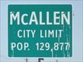 Image for McAllen TX - Pop. 129,877