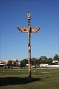 Image for Harwood Park Totem Pole -- Bridgeport TX