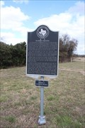 Image for El Camino Real -- McGeehee Crossing Historical Marker, Hays Co. TX