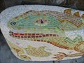 Image for Lizard and Bear Mosaic Benches - Berkeley, CA
