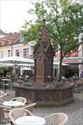 Image for Gotischer Brunnen Ludwigsplatz - Karlsruhe/Germany