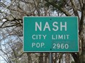 Image for Nash, TX - Population 2960