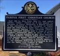 Image for Fairfax First Christian Church - Valley, AL