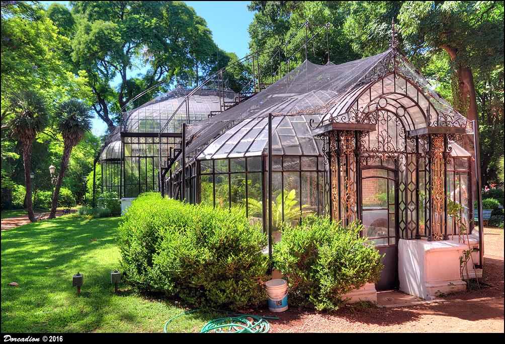 Main greenhouse of Buenos Aires Botanical Garden