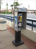 Image for Gish VTA Lightrail Station payphone - San Jose, CA
