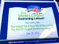 Image for World's Largest Swimming Lesson - Santa Clarita, CA