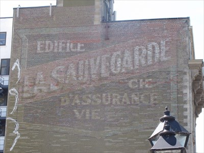 La sauvegarde assurances montr al qc ghost signs on for Assurance maison montreal