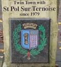 Image for St. Pol Sur Ternoise Twin Town Plaque – Hebden Bridge, UK