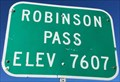 Image for Robinson Pass - Elevation 7607 feet