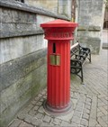 Image for Victorian Pillar Box - Market Place, Banbury, Oxon, UK