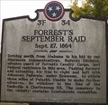 Image for Forrest's September Raid, Pulaski, Tennessee
