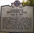 Image for Forrest's September Raid, Pulaski, Tennessee