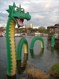 Image for The Lego Ness Monster - Lucky 7 - Downtown Disney - Florida, USA.