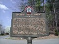 Image for Babb´s Settlement - GHM 155-9 - Whitfield Co., GA
