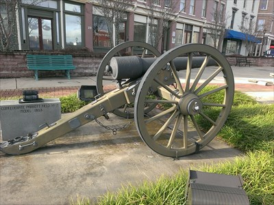 located in downtown Chester SC across from the civil war monument