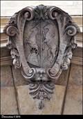 Image for Alliance CoA: Alois Pálffy von Erdöd  & Sophia Jablonowska - Pálffy Palace (Prague)