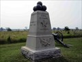 Image for 6th Maine Battery Monument - Gettysburg National Military Park Historic District - Gettysburg, PA