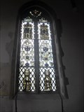 Image for Medieval Stained Glass, Church of Ss. Peter and Paul, Church Road, Bardwell, Suffolk. IP31 1AH.