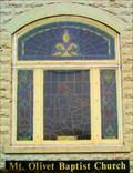 Image for Baptist Church Window  -  Mt. Olivet, KY