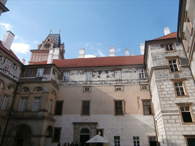 Castle and Chateau Brandys nad Labem