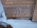 Image for 1938 Masonic Temple, Marengo, Iowa