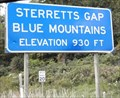 Image for Sterretts Gap Blue Mountains 930 Feet Shermans Dale PA
