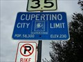 Image for Cupertino, CA - Pop: 58,300