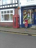 Image for Red Telephone Box, High Street, Kinver, Staffordshire, England