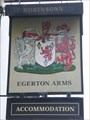 Image for The Egerton Coat of Arms - Astbury, Cheshire.