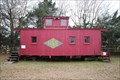 Image for Wooden Red Caboose -- Millard's Crossing, Nacogdoches TX