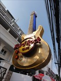Image for Gigantic Guitar-Hard Rock Cafe Patong Beach—Phuket, Thailand.