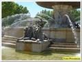 Image for Les lions de la fontaine de la Rotonde - Aix en Provence, France