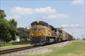 Image for Union Pacific RR Mainline at the Downtown Park -- Dilley TX