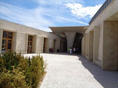 Entrance visitor center