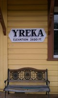 Image for Yreka - Elevation 2630 ft. - Western Railroad Station - California