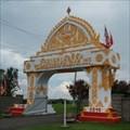 Image for Wat Lao Samakhitham Gate - Castle Creek, NY